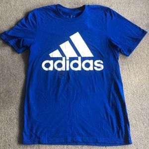Addidas Blue T-shirt